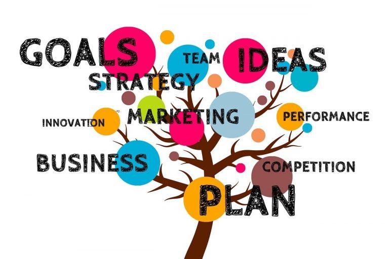 business, plan, tree